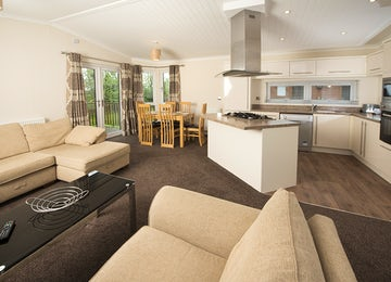 Holiday Park in Somerset - Living Area