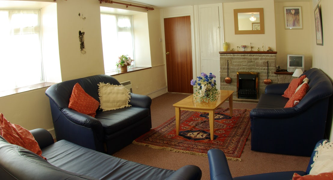 Killigarth Manor Holiday Park- Lounge Area