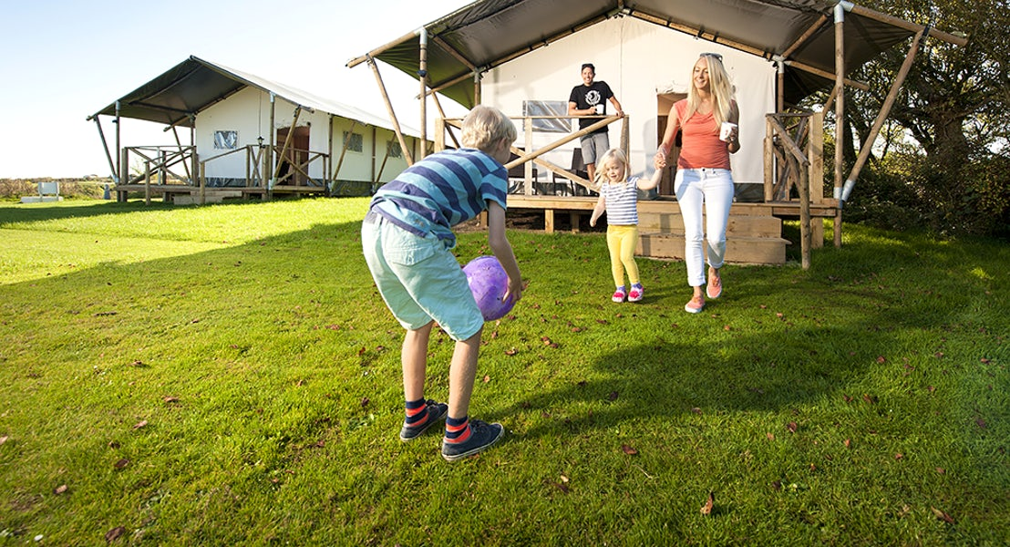Safari Tent Glamping | Widemouth Bay Caravan Park
