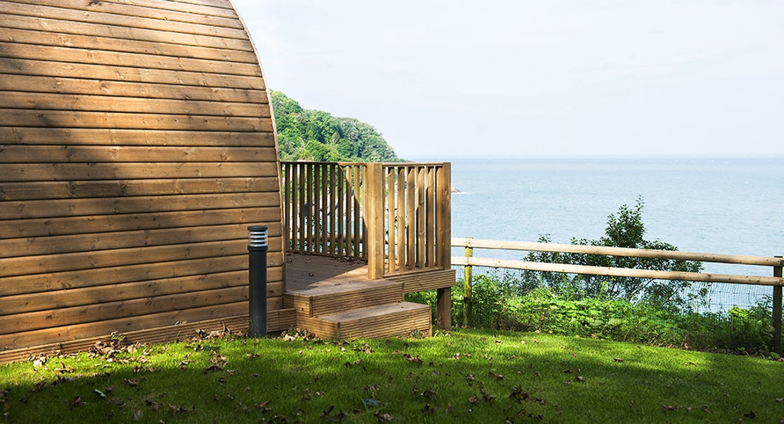 Camping Pod Views | Devon Holidays