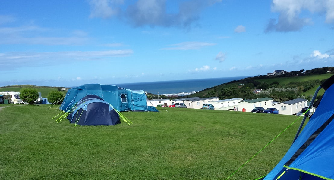 Non Electric Camping Pitches | Widemouth Bay