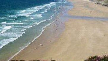 Perranporth Beach