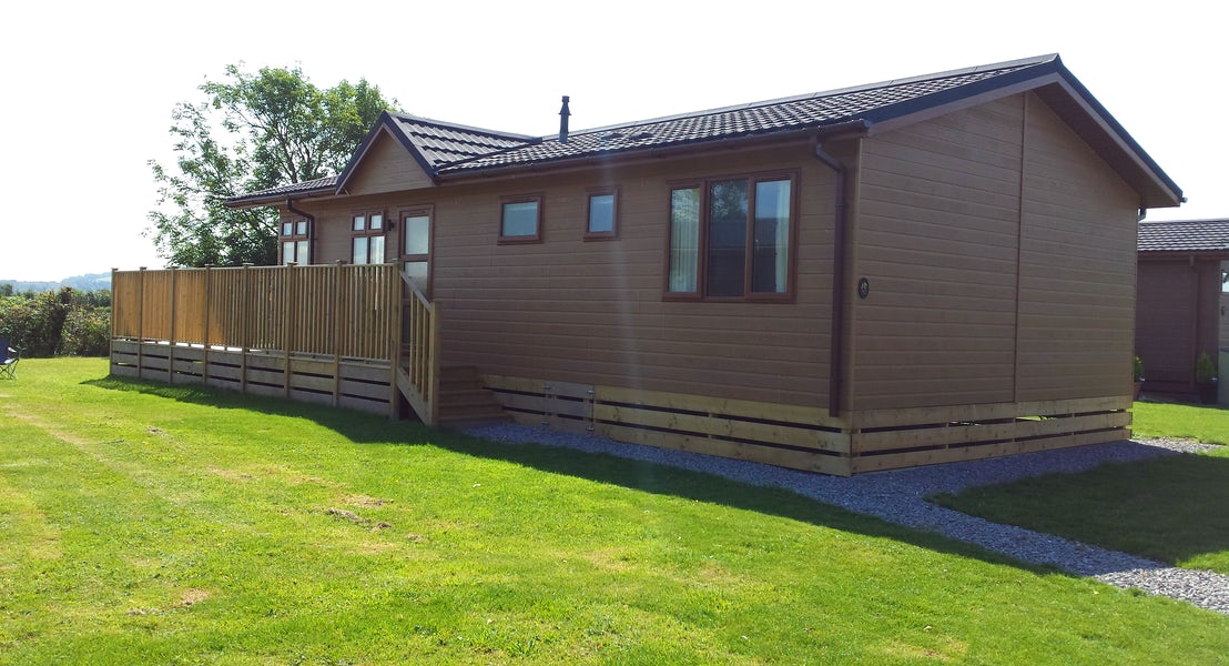 Lodge exterior | Somerset Lodge Holidays