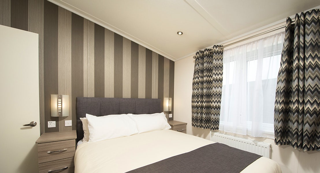 Bedroom | Cornwall Lodge Holidays