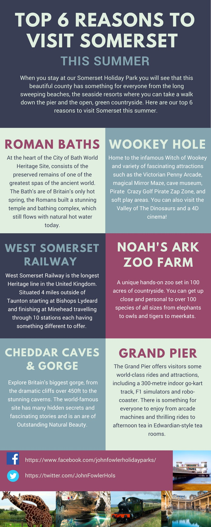 Top 6 Reasons to Visit Somerset This Summer