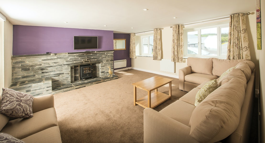 Lounge ¦ Widemouth Farnhouse