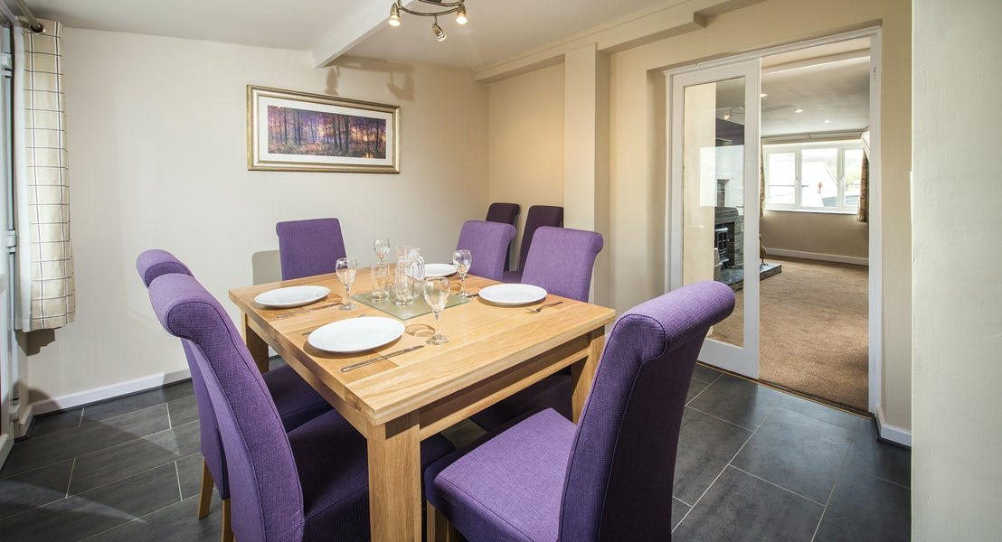 Dining room ¦ Widemouth Farnhouse