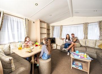 Family gold caravan