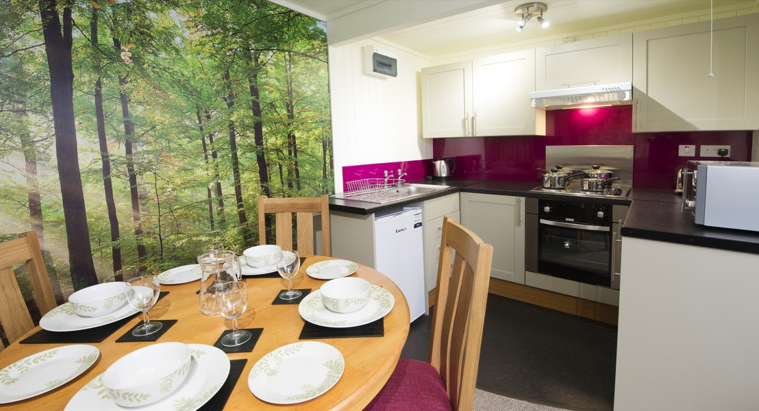 Kitchen ¦ Silver Chalet ¦ John Fowler Holiday Parks