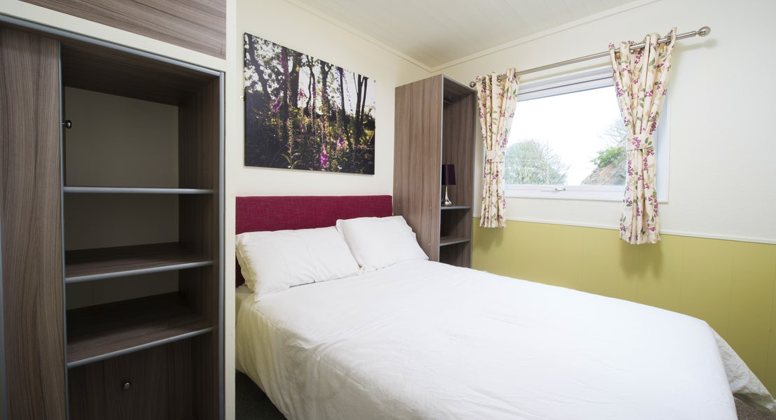 Double Bedroom ¦ Silver Chalet ¦ John Fowler Holiday Parks