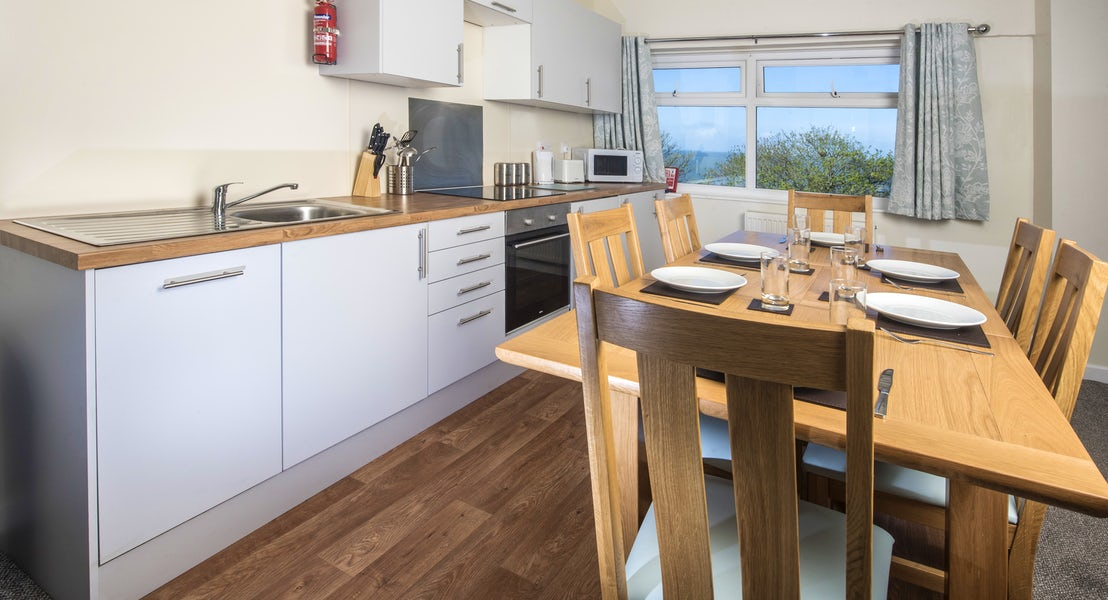 Gold apartment ¦ Devon holiday parks