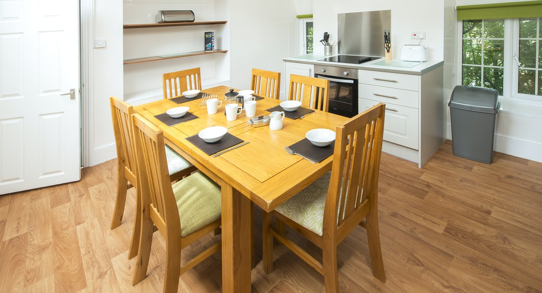 Kitchen gold apartment ¦ North Devon Holidays