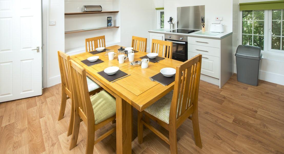 Kitchen gold apartment ¦ North Devon Holidays