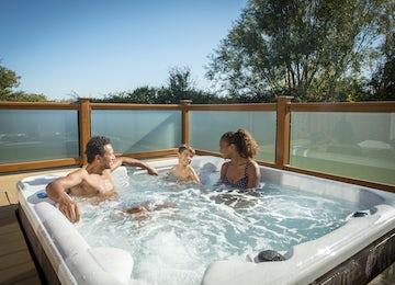 Platinum Hot Tub Lodge