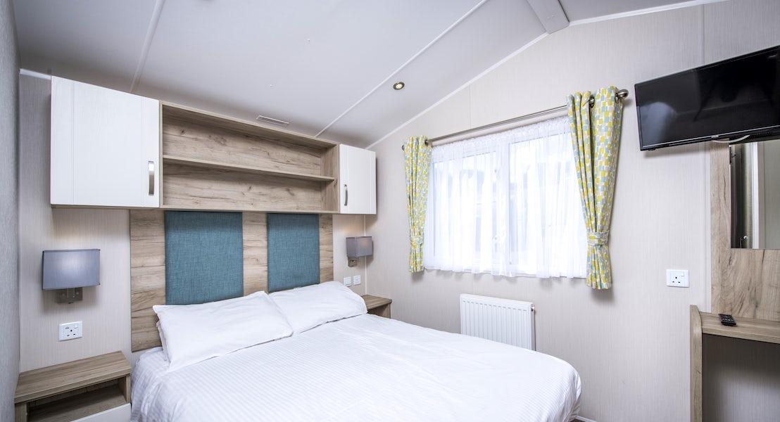 Bedroom ¦ 2 Bed platinum caravan pet