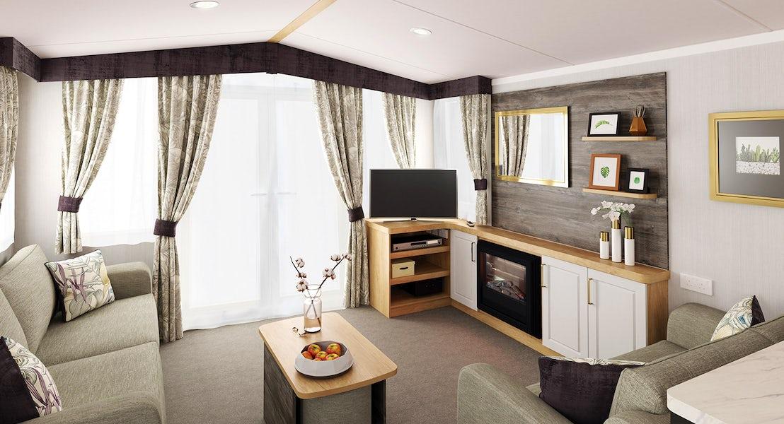 Living room ¦ 3 Bedroom Platinum Caravan
