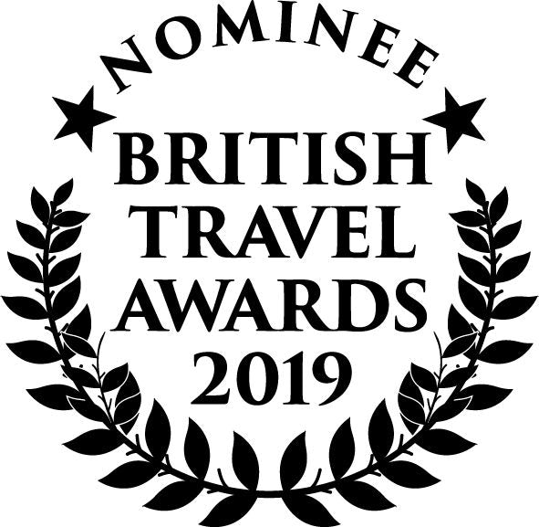 We have been nominated for a British Travel Award!