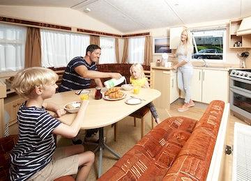 Family Lounge Area- Widemouth Bay Caravan Park