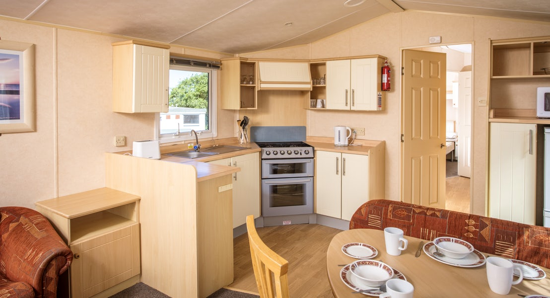 Value Caravan kitchen