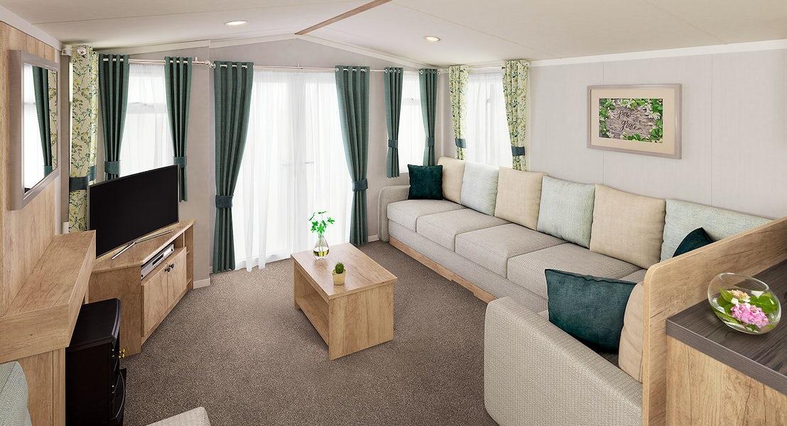 Lounge ¦ 3 bed platinum hot tub caravan