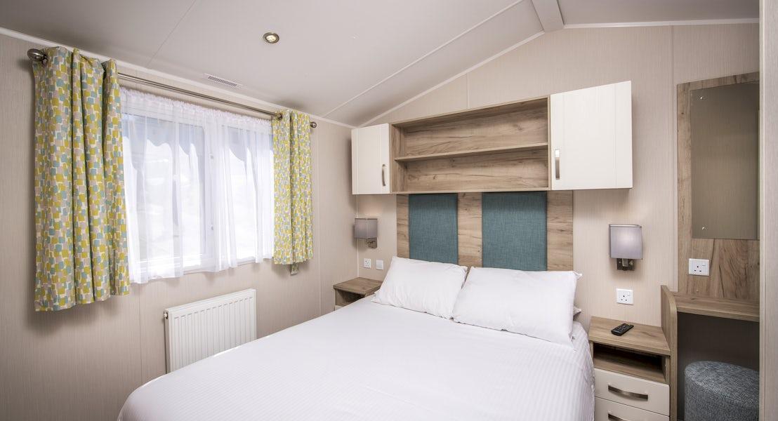 Bedroom platinum caravan