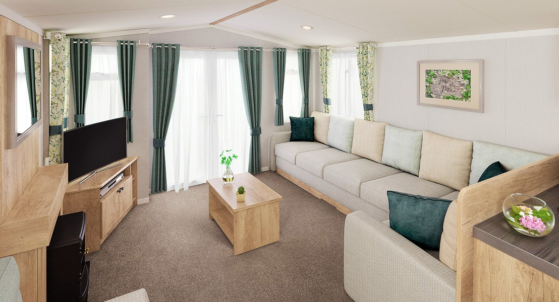 Living room platinum caravan