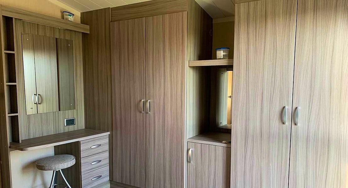 Master bedroom has ensuite