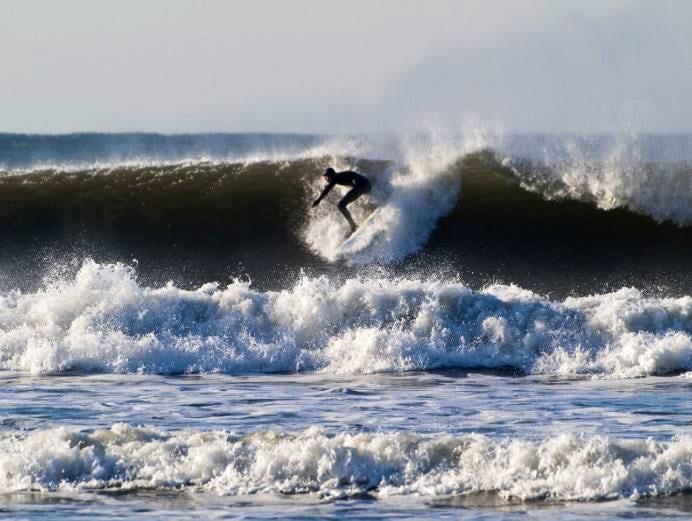 Surfer Devon Beach