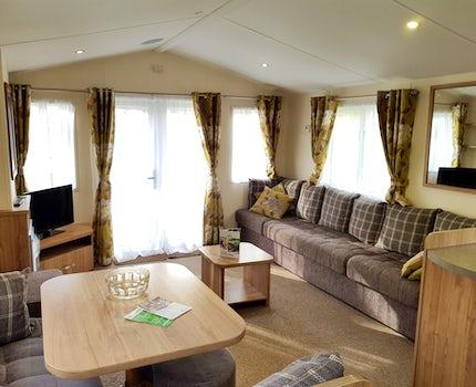 2 Bedroom Silver Caravan Lodge ¦ St Ives Holiday Village