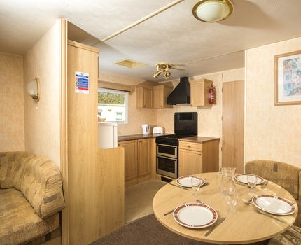 Living Area | 3 Bed Budget Caravan