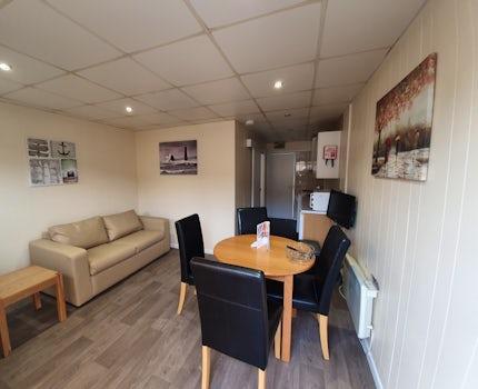 Value Chalet Lounge | Somerset Holiday Park