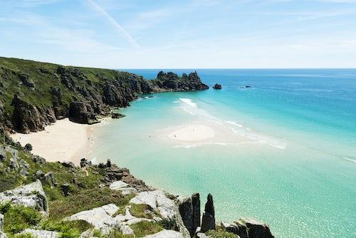 Portcurno Beach, Cornwall
